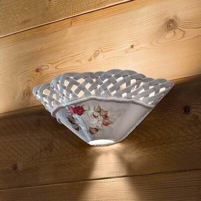 Ferroluce Terni 1 Light Halogen Wall Lamp