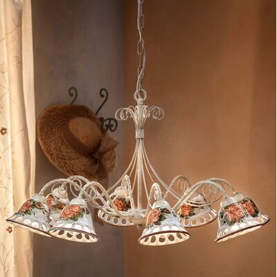 Ferroluce Napoli 8 Light Chandelier