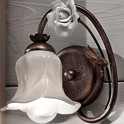 Ferroluce Firenze 1 Light Florentine Wall Lamp