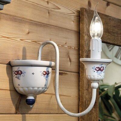 Ferroluce Sanremo 1 Light Wall Lamp