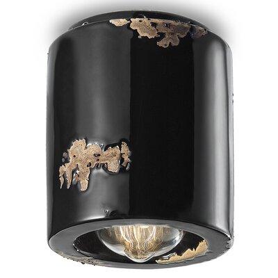 Ferroluce 1 Light Flush Ceiling Light