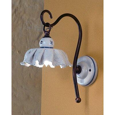 Ferroluce Modena 1 Light Semi Flush Light