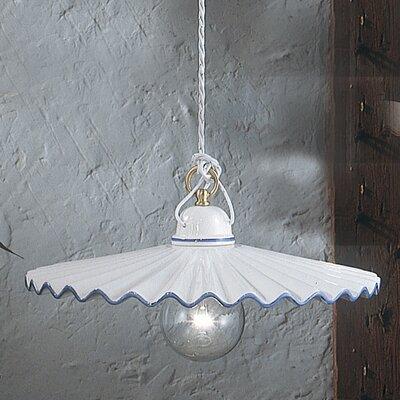 Ferroluce L'Aquila 1 Light Mini Pendant