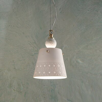 Ferroluce Viterbo 1 Light Mini Pendant