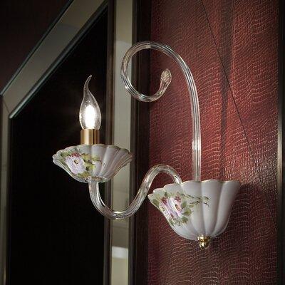 Ferroluce Monza 1 Light Rich Wall Lamp