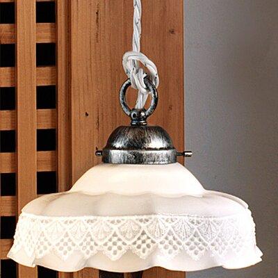 Ferroluce Avellino 1 Light Mini Pendant