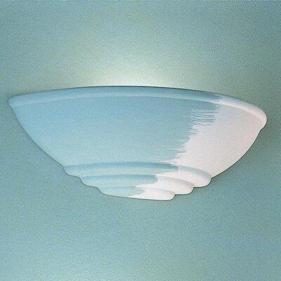 Ferroluce Trieste 1 Light Flush Wall Light