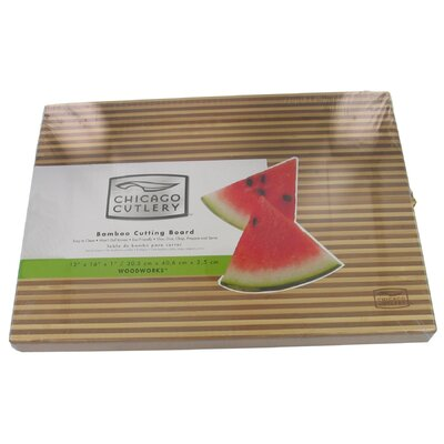 Two Tone Bamboo Cutting Board