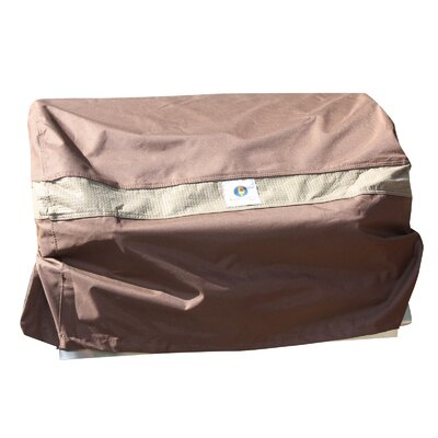 "Maddison BBQ Hood Gas Grill Cover Fits up to 33"" Color: Mocha Cappuccino"