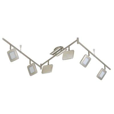 Briloner Volles Schienenbeleuchtungsset 6-flammig Bassa