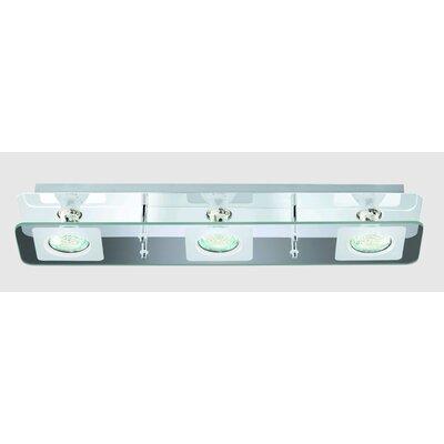 Briloner LED-Deckenleuchte 3-flammig Super Living