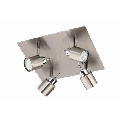 Briloner LED-Deckenleuchte 4-flammig Super Living