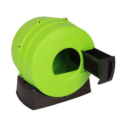 Appleby Quick Clean Spinner Cat Litter Box Color: Green
