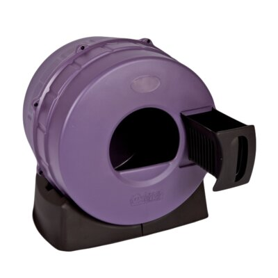 Appleby Quick Clean Spinner Cat Litter Box Color: Passion Purple