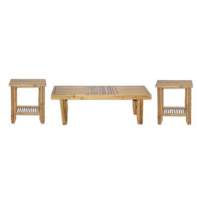 Bamboo54 3 Piece Coffee Table Set