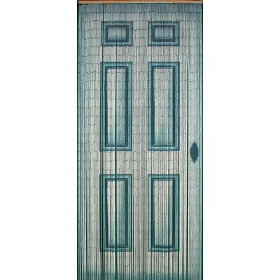 "78"" x 36"" Bamboo Beaded Curtain Door Motif 1 Panel Room Divider"