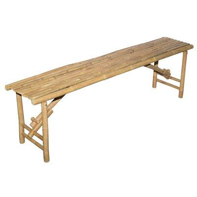 Wood Folding Bench