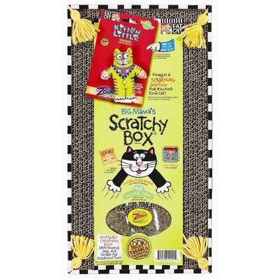 FatCat Big Mama's Scratchy Cat Box® Scratching Post