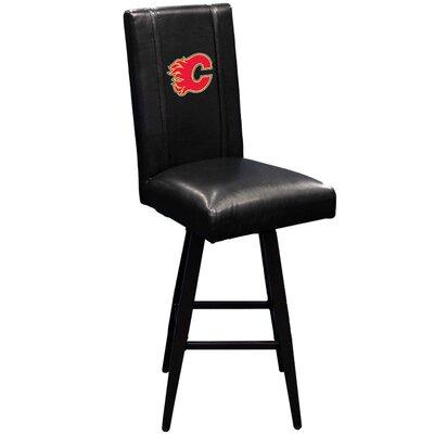 Swivel Bar Stool NHL Team: Calgary Flames - Red