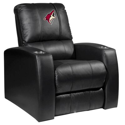 HT Leather Manual Recliner NHL Team: Arizona Coyotes
