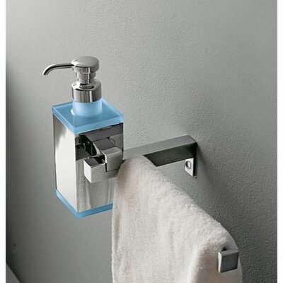 Toscanaluce by Nameeks Eden Wall Mounted Soap Dispenser Towel Rail