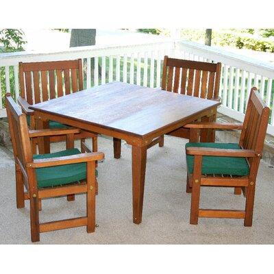 """Cedar Get Together 5 Piece Dining Set Size: 47"""", Finish: Cedar Stain/Sealer"""