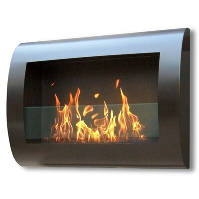 Anywhere Fireplaces Anywhere Fireplaces Chelsea Wall Mount Bio Ethanol Fireplace