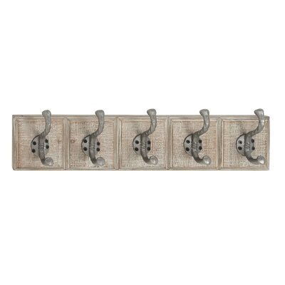 Castlehaven Traditional Rectangular Wall Mounted Coat Rack