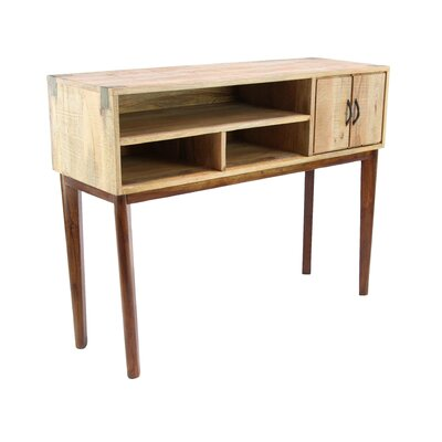 Allmon Rustic Stained Console Table