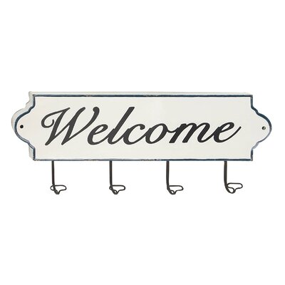 Kirkwall Welcome Wall Mounted Coat Rack