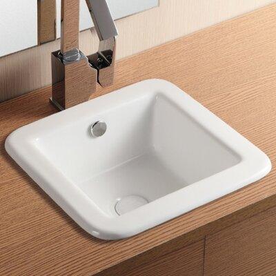 Caracalla Ceramica II Sink for The Bathroom or Powder Room