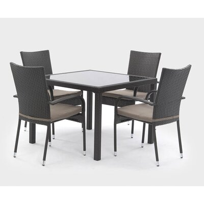 Suntime Lincoln 4 Seater Dining Set