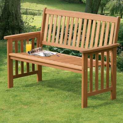 Suntime Camillion 2 Seater Wood Bench