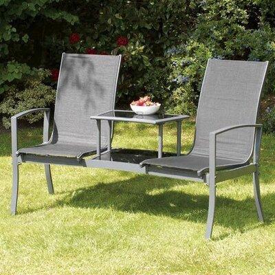 Suntime Havan 2 Seater Metal Love Seat