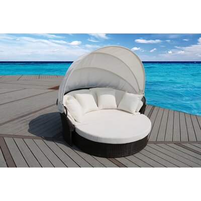 Suntime Cerbere Rattan Daybed with Cushion