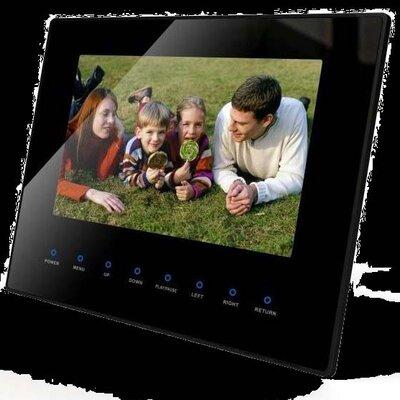 Lamboro Slimline HD Digital Photoframe