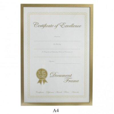 Lamboro Deluxe Certificate Photo Frame