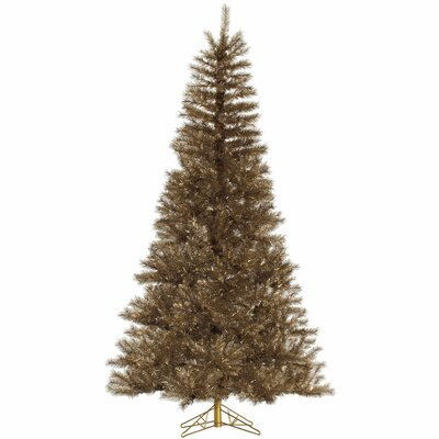 12' Metal Mix Tinsel Artificial Christmas Tree with Stand