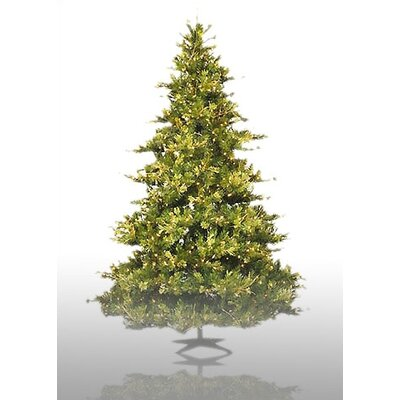 Vickerman Country Pine 10' Green Artificial Christmas Tree with 1450 Pre-Lit Clear Lights with Stand