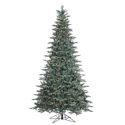 Crystal Frost Balsam 9' Fir Artificial Christmas Tree with 1000 Clear Lights