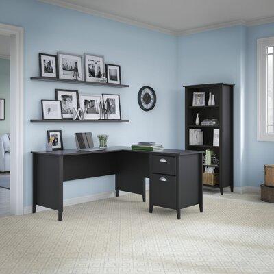 Connecticut 2 Piece L-Shape Desk Office Suite