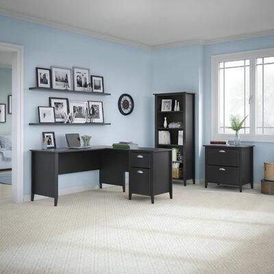 Connecticut 3 Piece L-Shape Desk Office Suite