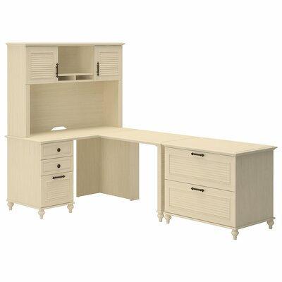 Volcano Dusk 3 Piece L-Shape Desk Office Suite