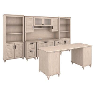 Volcano Dusk 5 Piece Desk Office Suite Color: Driftwood Dreams