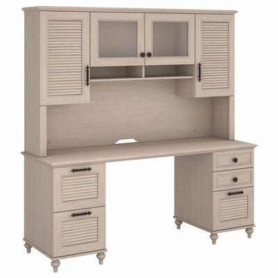 Volcano Dusk 2 Piece Desk Office Suite Color: Driftwood Dreams