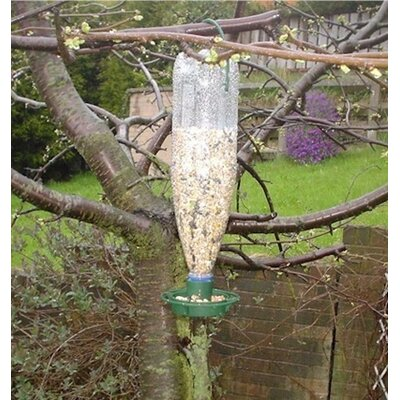 Greena Bottle Bird Feeder