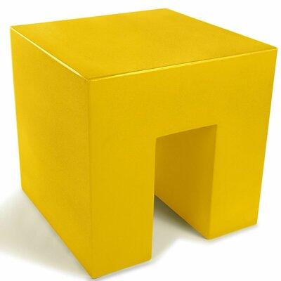 Vignelli Cube Color: Yellow