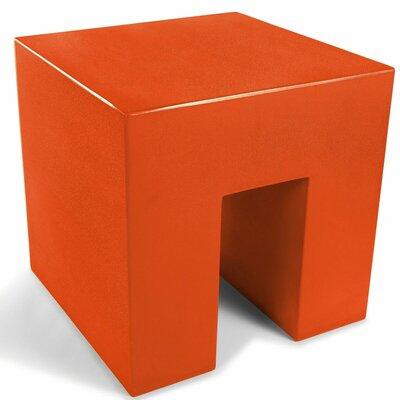 Vignelli Cube Color: Orange