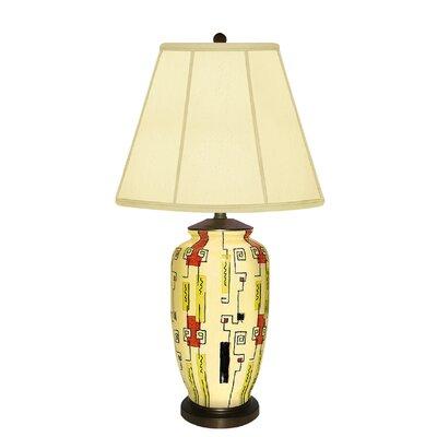 "JB Hirsch Home Decor Pomodoro 8"" H Table Lamp with Empire Shade"