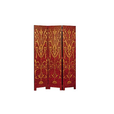 Sunburst 3 Panel Room Divider